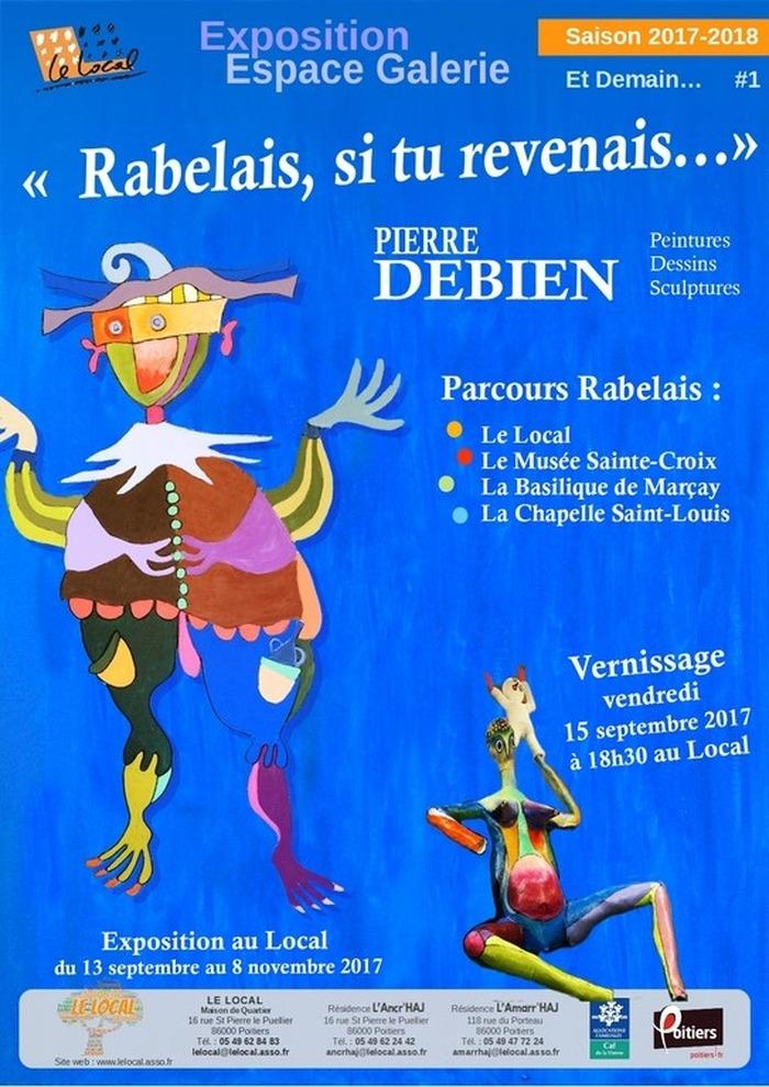 Journées du patrimoine 2017 - Rabelais si tu revenais...