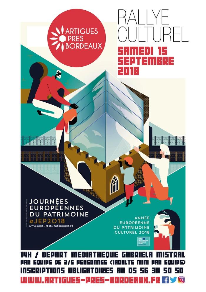 Journées du patrimoine 2018 - Rallye culturel à travers Artigues-près-Bordeaux