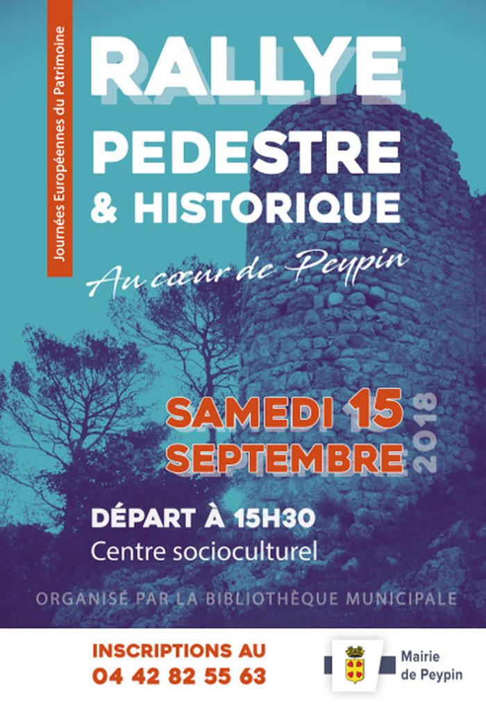 Journées du patrimoine 2018 - Rallye pédestre et historique