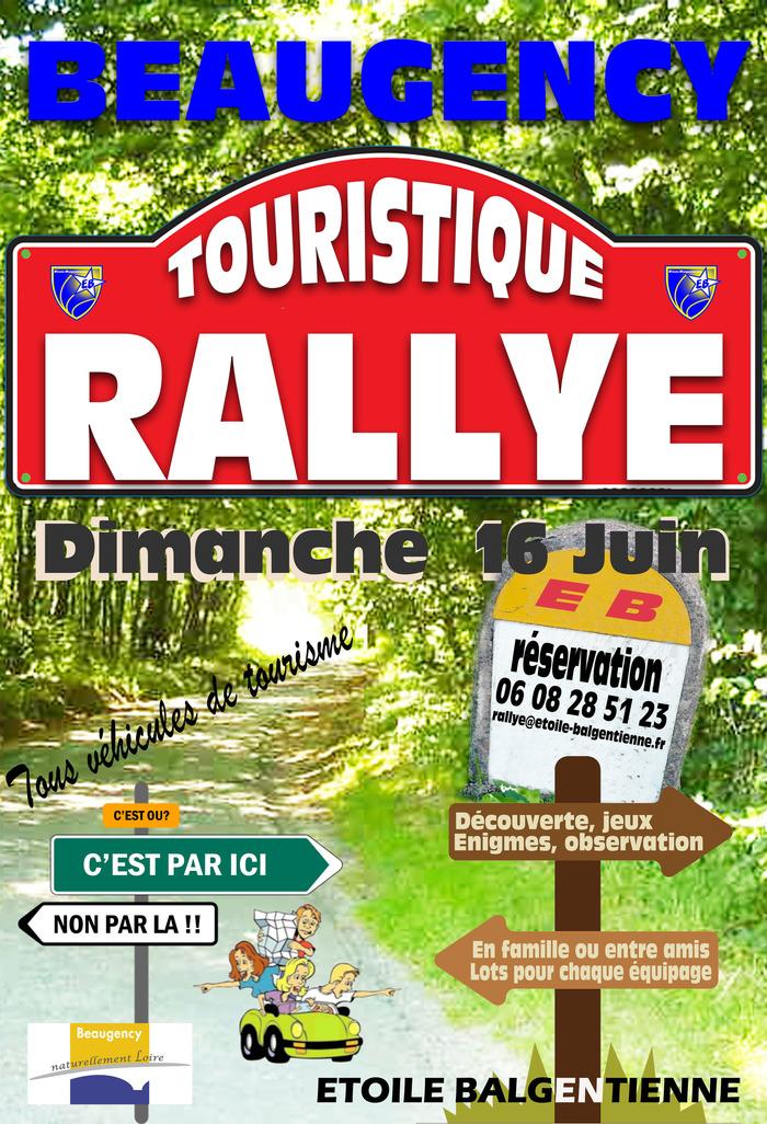 Rallye touristique de l'ETOILE BALGENTIENNE