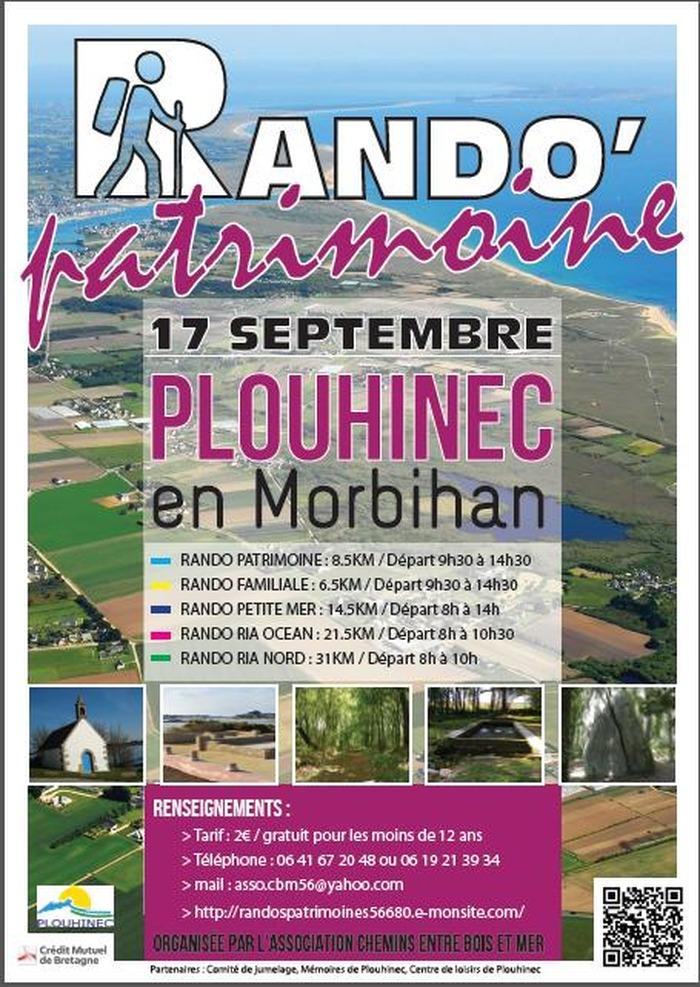 Journées du patrimoine 2017 - Rando Patrimoine