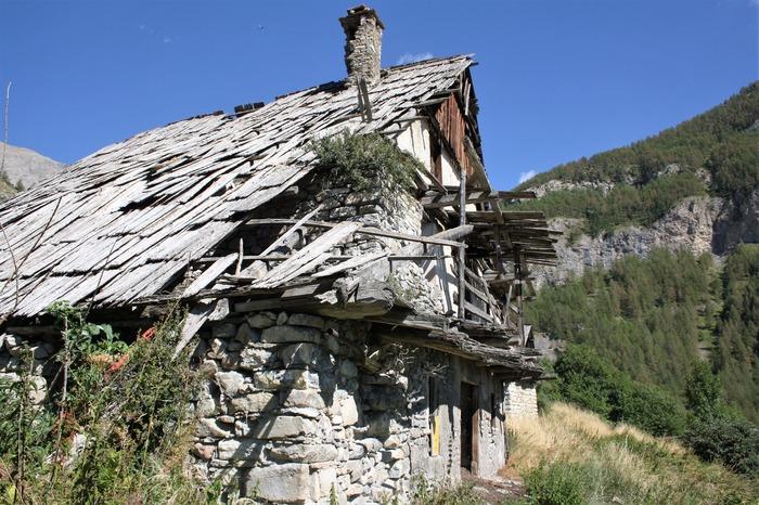 Journées du patrimoine 2018 - Randonnée patrimoine - Hameau champrichard - Coeur du Parc National du Mercantour