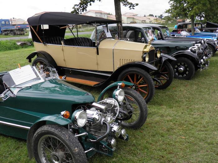 Journées du patrimoine 2018 - Rassemblement de voitures anciennes