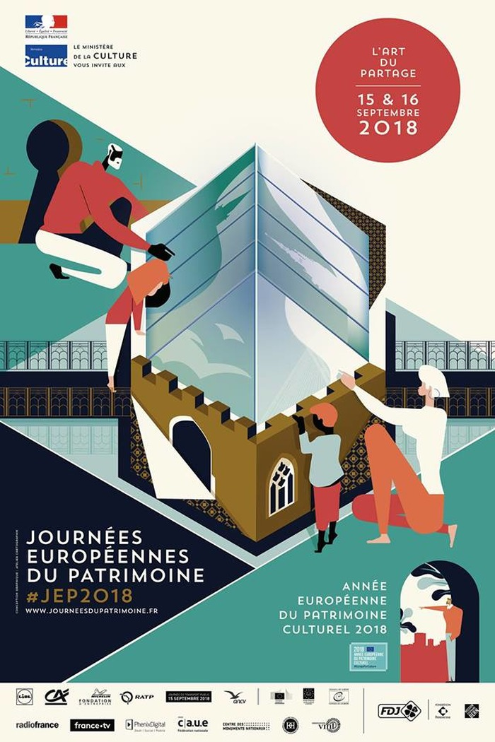 Journées du patrimoine 2018 - Réalité virtuelle spéciale Journées du Patrimoine