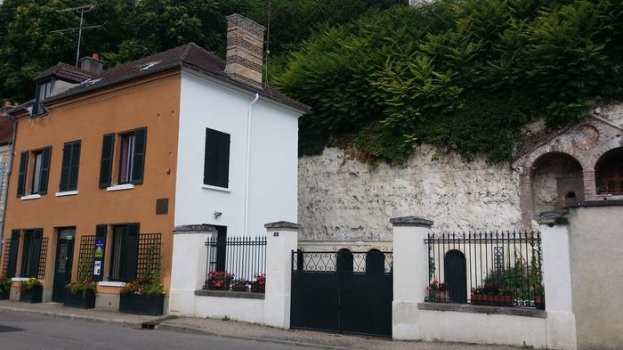 Journées du patrimoine 2018 - Récit et lectures de lettres autour d'une collation, dans la maison Claude Monet à Vétheuil.