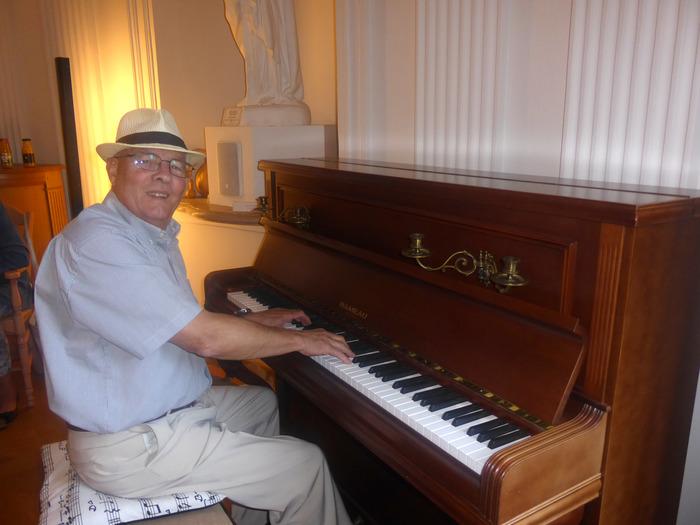 Journées du patrimoine 2018 - Récital de piano avec Harald Schlude