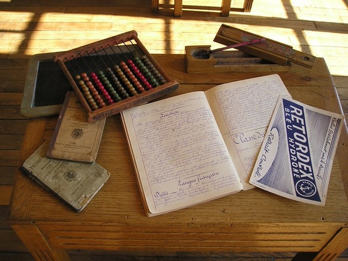 Journées du patrimoine 2018 - Reconstitution d'une classe
