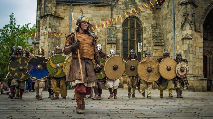 Journées du patrimoine 2018 - Reconstitution d'un camp de raid viking