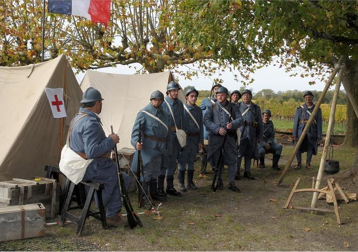 Journées du patrimoine 2018 - Reconstitution d'un camp militaire de 14-18