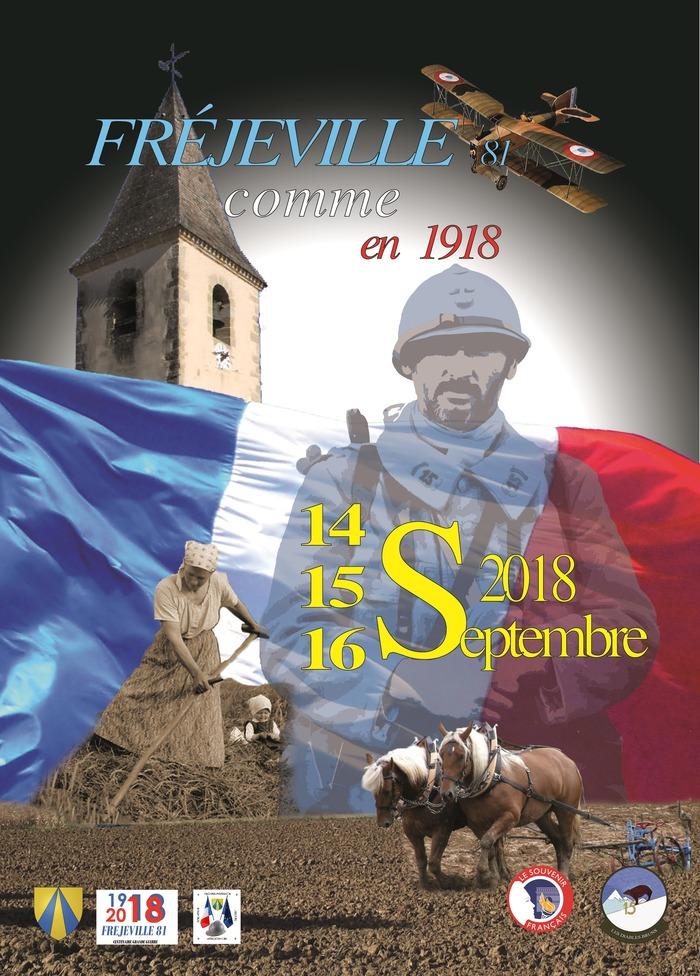 Journées du patrimoine 2018 - Reconstitution d'un village rural en 1918