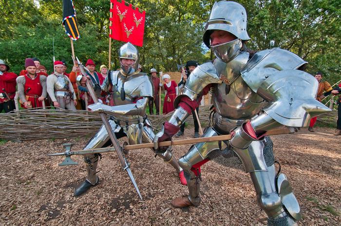 Journées du patrimoine 2018 - Reconstitution d'une joute courtoise au château de Castelnaud