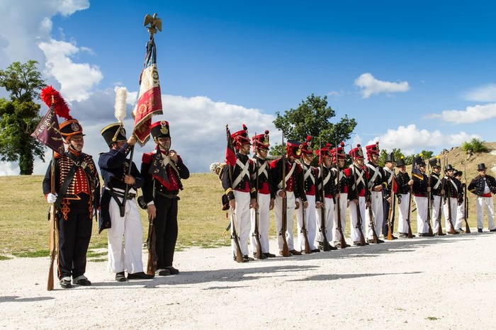 Journées du patrimoine 2018 - Reconstitution de l'armée napoléonienne