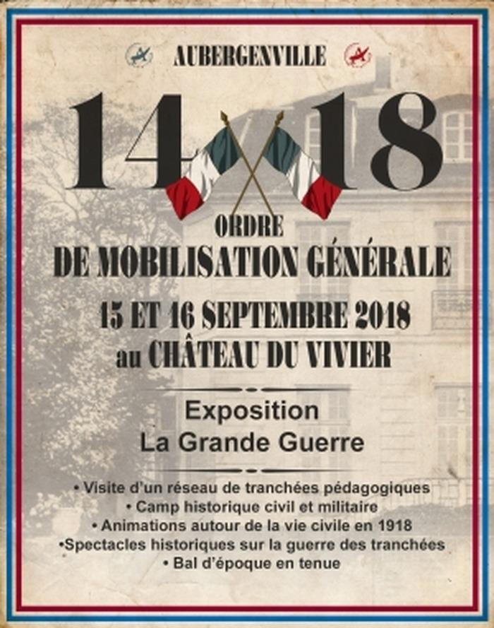 Journées du patrimoine 2018 - Reconstitution historique au Château du Vivier