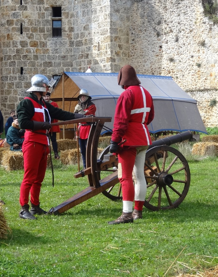 Journées du patrimoine 2018 - Reconstitution historique d'un campement médiéval du XVe siècle