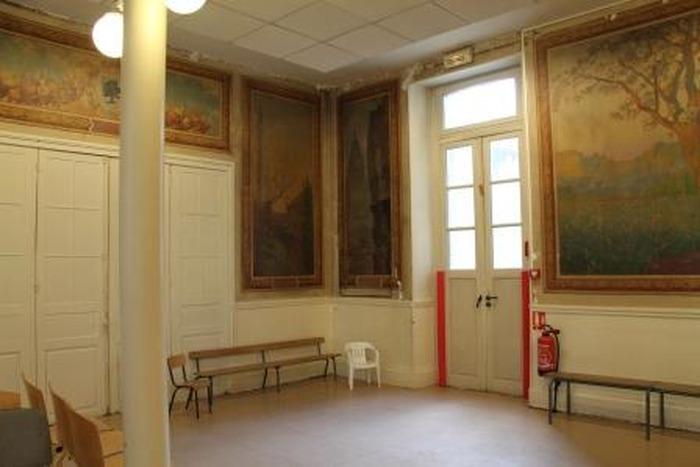 Journées du patrimoine 2018 - Redécouverte de la salle des fresques