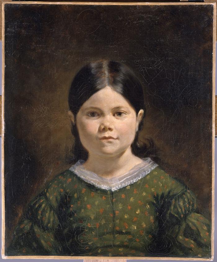 Crédits image : Portrait de la fille de Jenny le Guillou, Eugène Delacroix © RMN-Grand Palais (musée du Louvre) / Gérard Blot