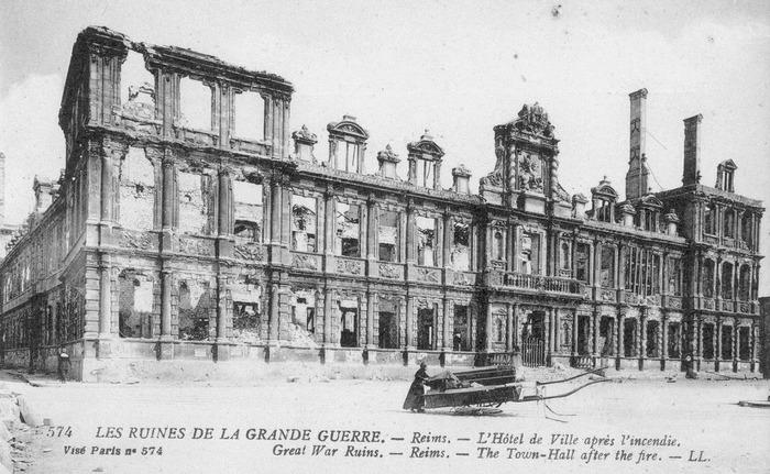 Journées du patrimoine 2018 - « Reims à Paris en 1918 »