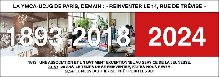 Journées du patrimoine 2018 - Réinventer le 14 rue de Trévise