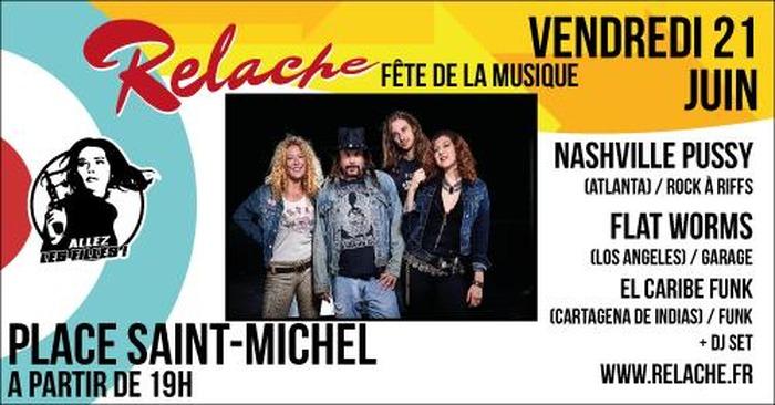 Relache #10 : Fête de la Musique // Saint-Michel