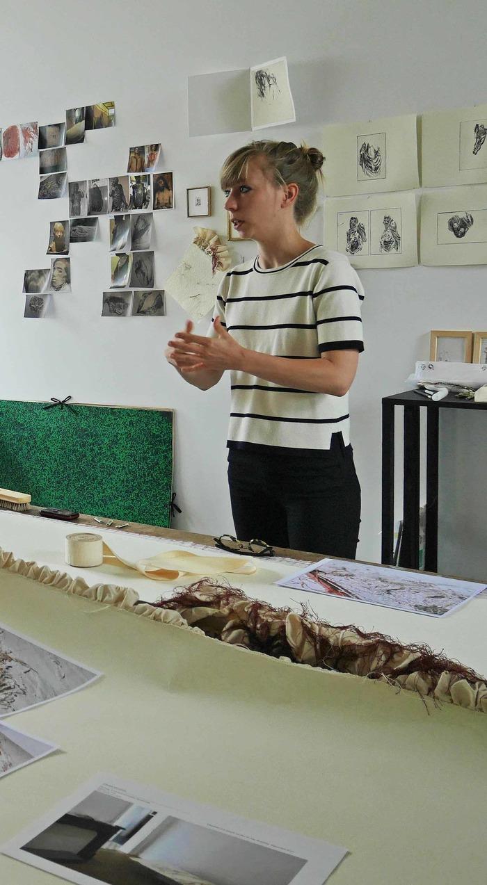 Journées du patrimoine 2018 - Rencontre autour de l'exposition de Roxane Kisiel