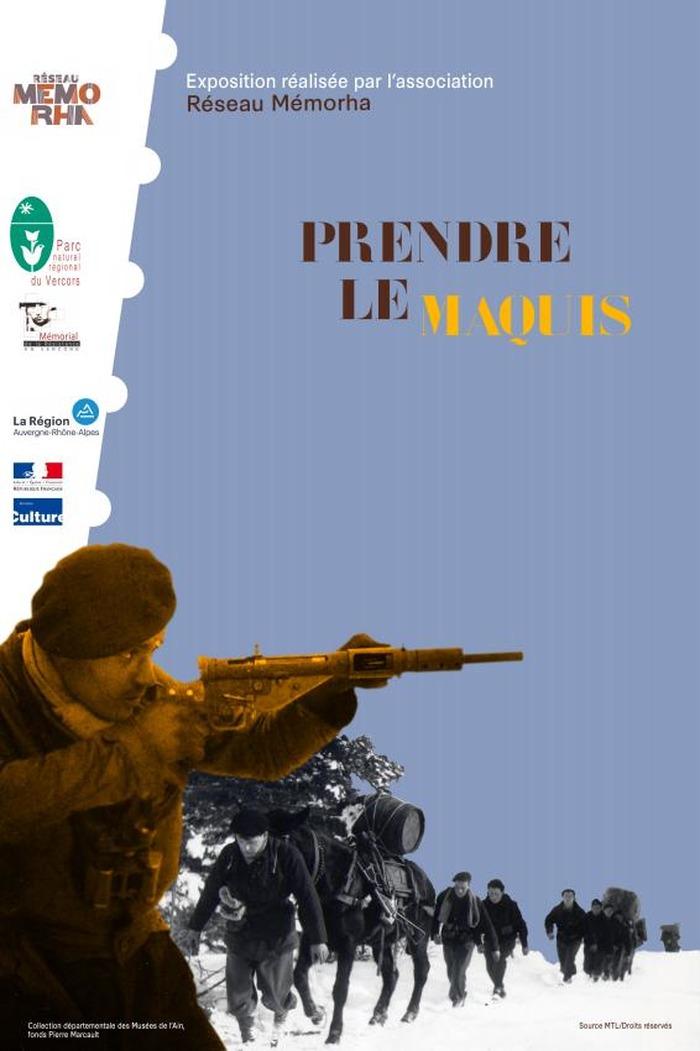 Journées du patrimoine 2018 - Rencontre autour de l'exposition temporaire et ouvrage « Prendre le maquis ».