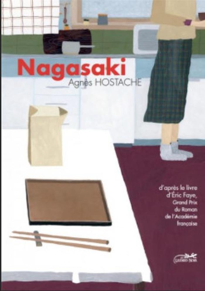 A l'occasion de la sortie de son roman graphique Nagasaki d'Eric Faye