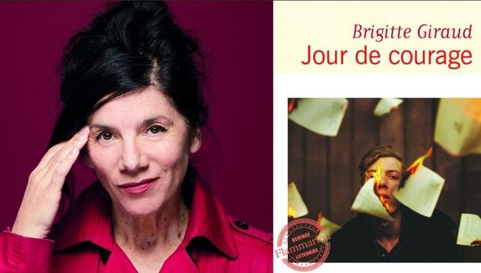 L'auteur présente son livre Jours de courage publié aux Editions Flammarion