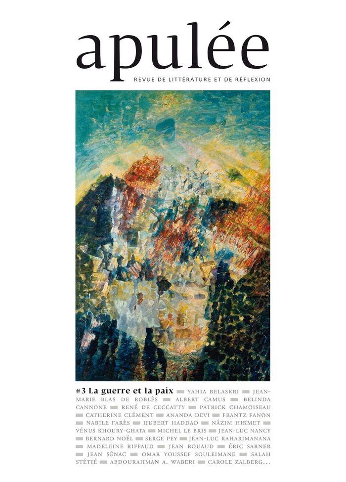 Journées du patrimoine 2018 - Rencontre avec Hubert Haddad autour du n°3 de la revue Apulée avec la participation des auteures : Marie Bardet et Valérie Schlée