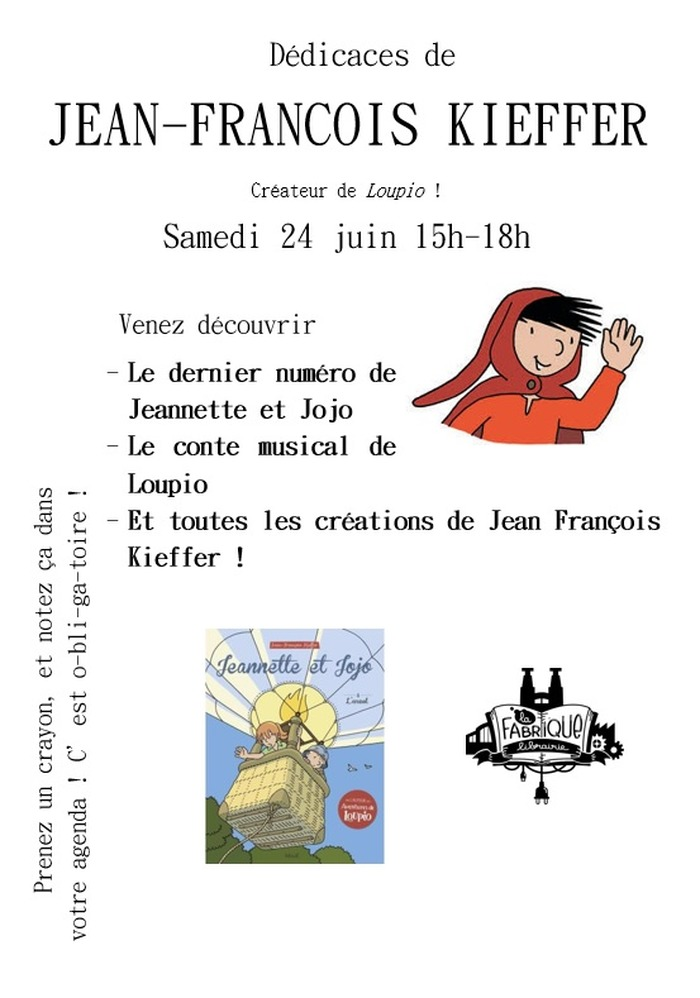 Rencontre avec Jean-François Kieffer