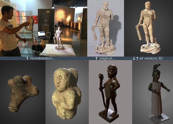 Crédits image : Crédit photo : E-Mage-In 3D, musée de Bretagne - parcours sensible