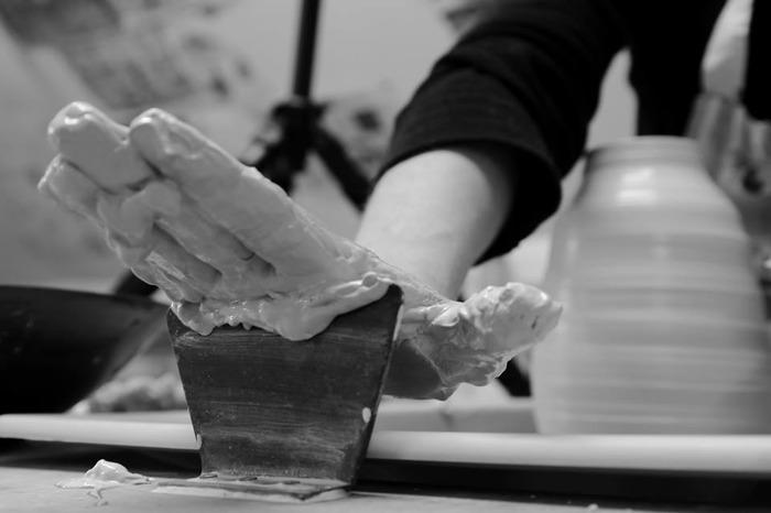 Journées du patrimoine 2018 - Rencontre avec Roxane, céramiste et Patrick, tourneur sur bois