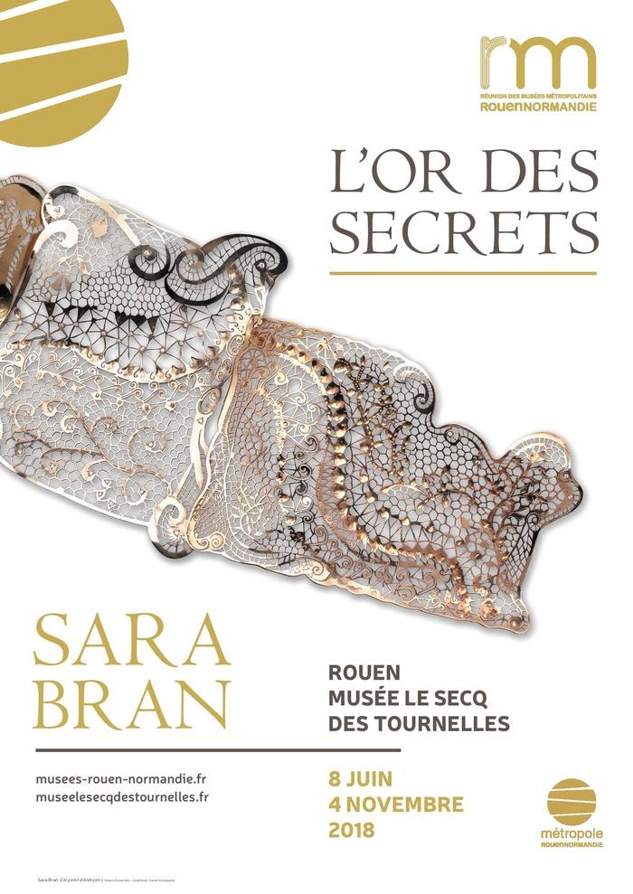 Journées du patrimoine 2018 - Rencontre avec Sara Bran, dentellière sur or