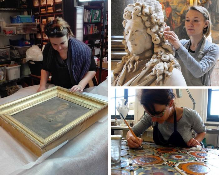 Journées du patrimoine 2018 - Rencontre avec trois restauratrices du patrimoine