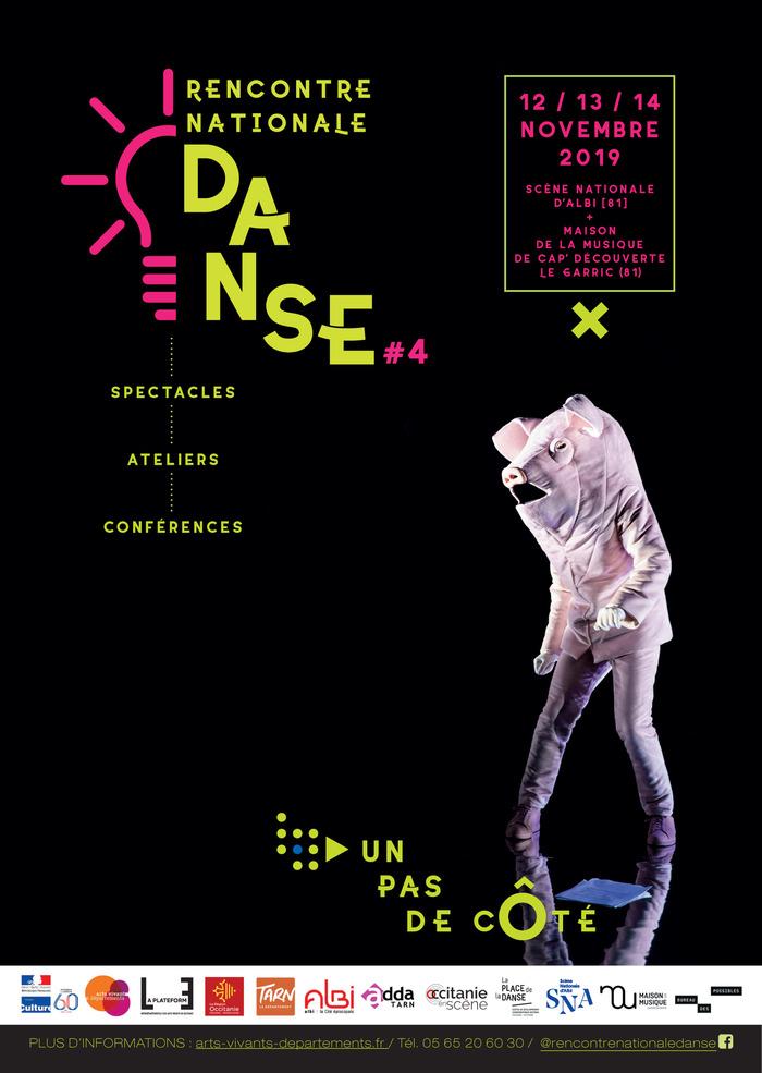 Rencontre Nationale Danse les 12, 13 et 14 novembre 2019, Albi (81)