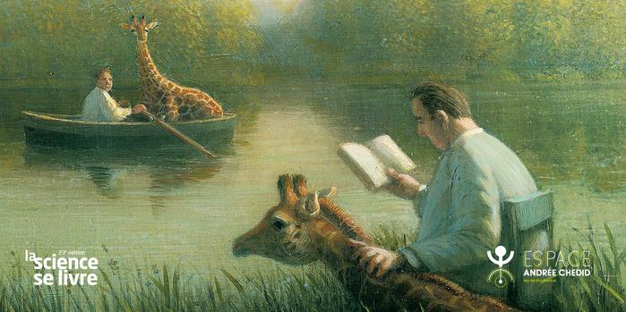 Rencontre poétique : Girafe, vous avez dit girafe ? avec Éric Poindron