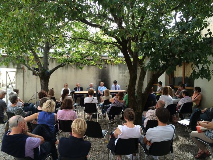 Journées du patrimoine 2018 - Rencontres et témoignage d'anciens internés de la prison de Montluc.