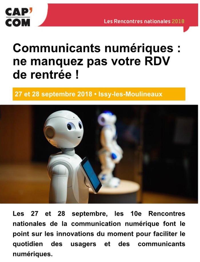 Rencontres nationales de la communication numérique