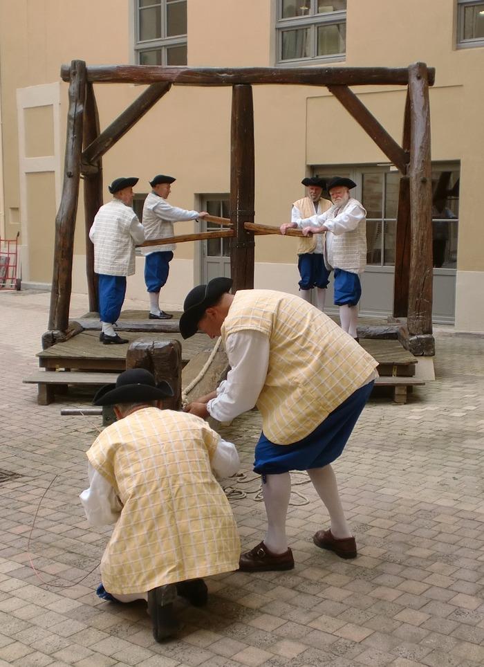 Journées du patrimoine 2018 - Rencontrez les tireurs d'or à Trévoux.