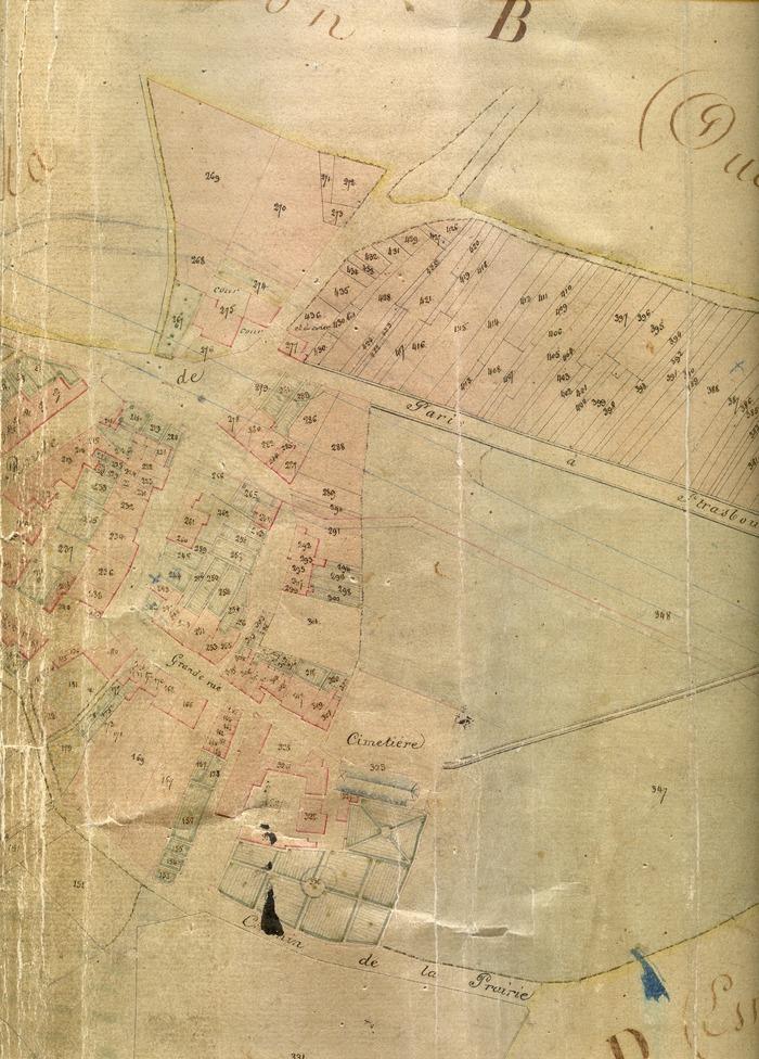 Journées du patrimoine 2018 - Le cadastre napoléonien de Varangéville