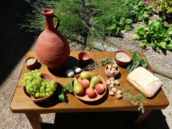 Journées du patrimoine 2018 - Repas gallo-romain