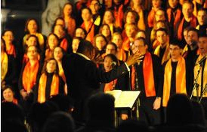 Répétition de la chorale