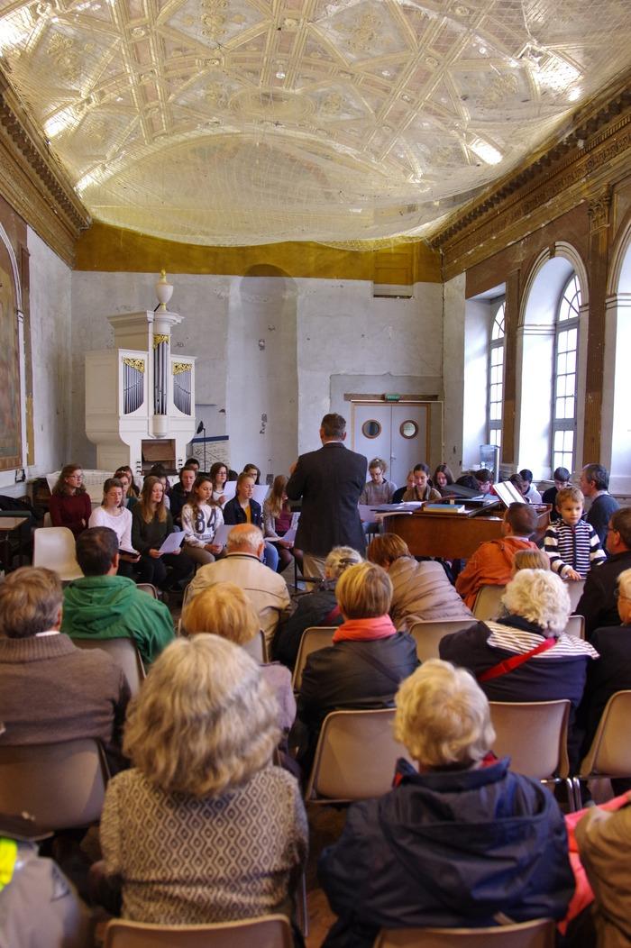Journées du patrimoine 2018 - Répétition publique de la Maîtrise de Sainte-Anne-d'Auray