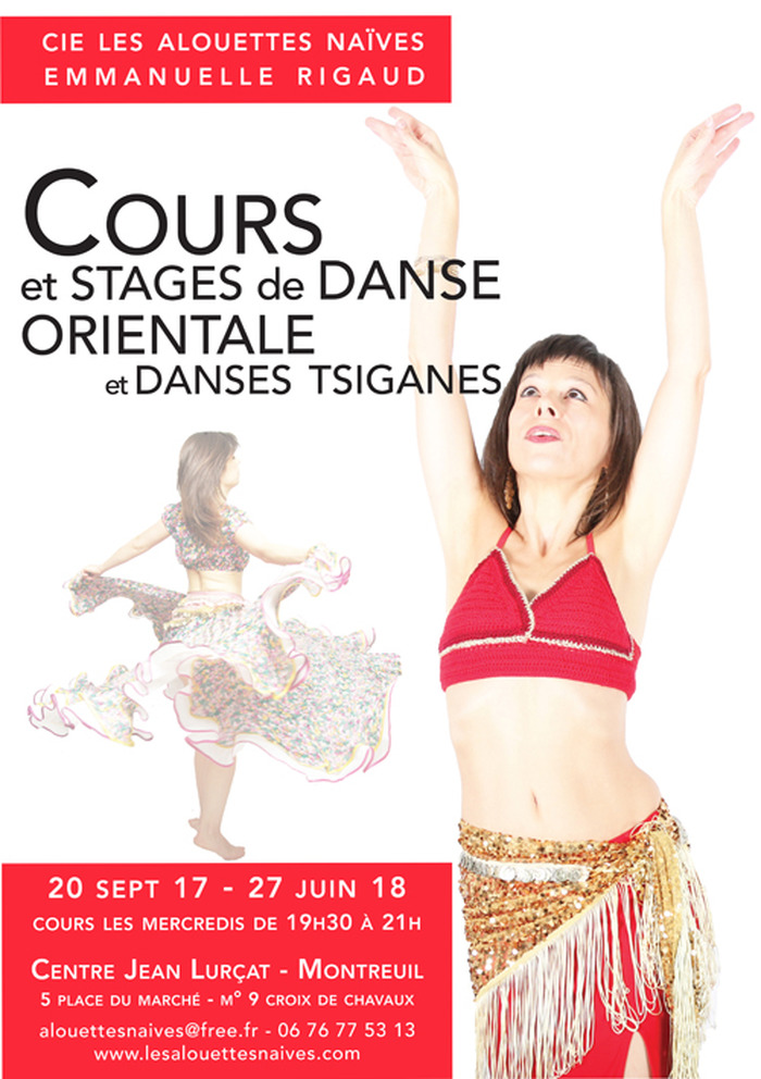 Reprise des Cours de danses orientale et tsigane le 20 septembre 2017