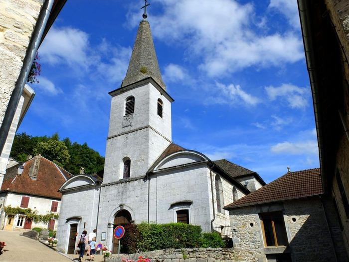 Eglise saint Théodule de Lods - Diocèse de Besançon - 25