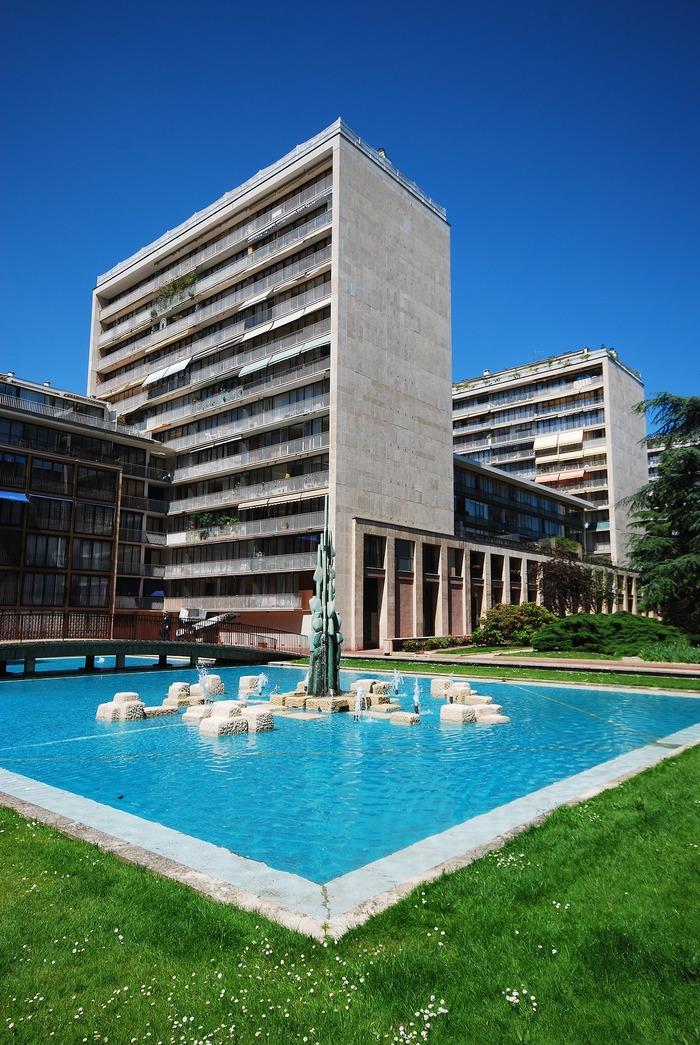 Journées du patrimoine 2018 - Visite commentée de la Résidence du Point-du-Jour Fernand Pouillon