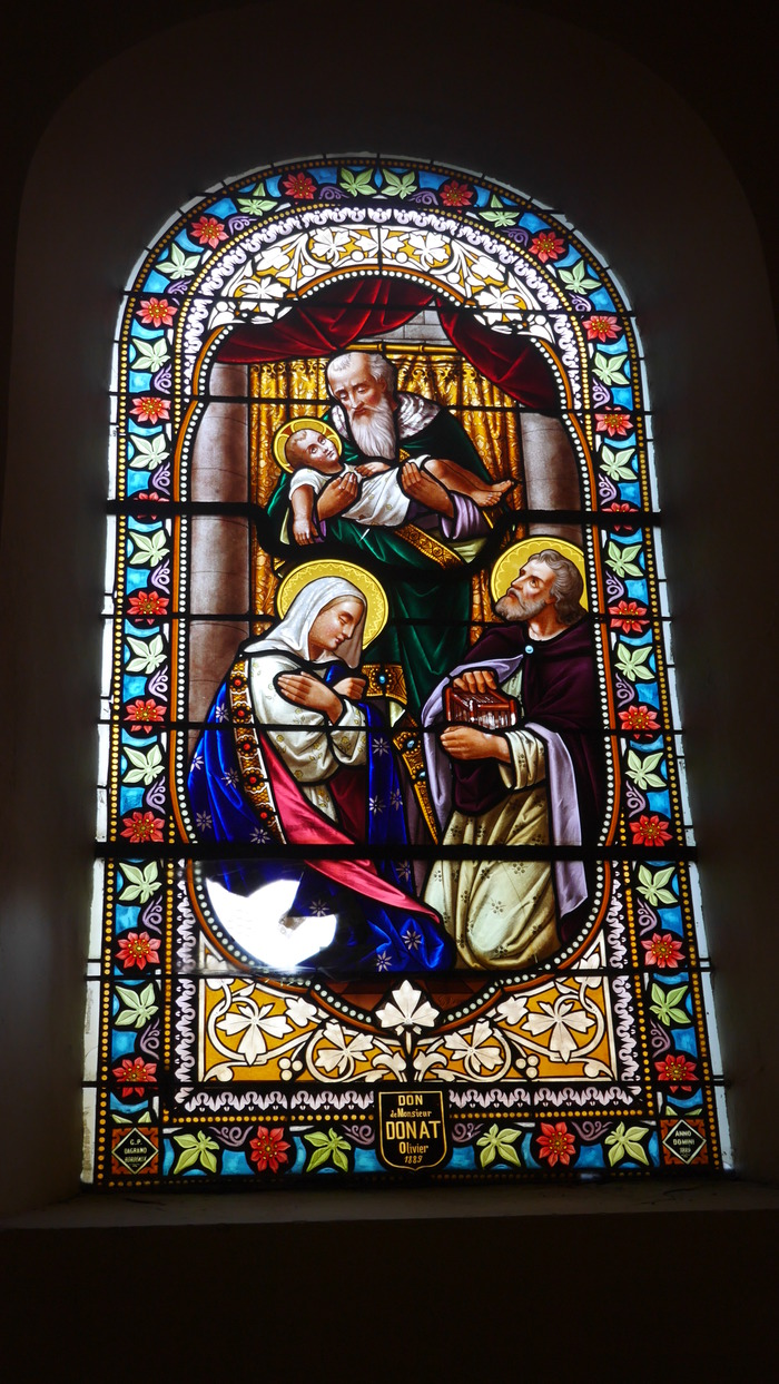 Journées du patrimoine 2017 - Restauration des vitraux de l'église de Saffloz