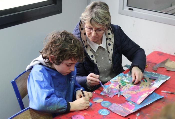 Restitution du projet pédagogique avec les enfants autistes de l'EPEAM