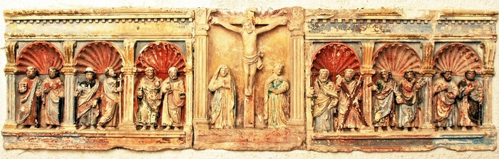 Journées du patrimoine 2018 - Retable aux Douze apôtres et demi-reliefs de la Vie du Christ