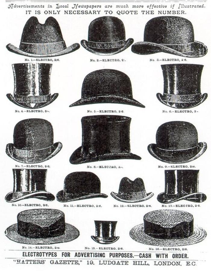 Journées du patrimoine 2017 - Retour sur l'histoire du XXe siècle via la présentation de chapeaux masculins qui ont marqué l'histoire