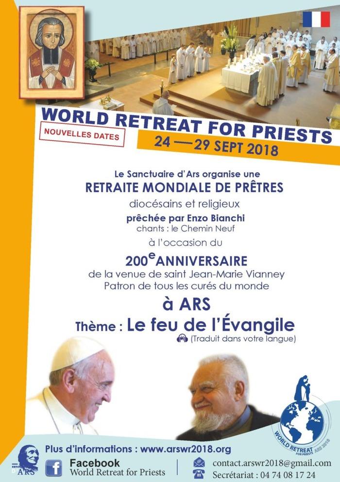 Retraite mondiale de prêtres
